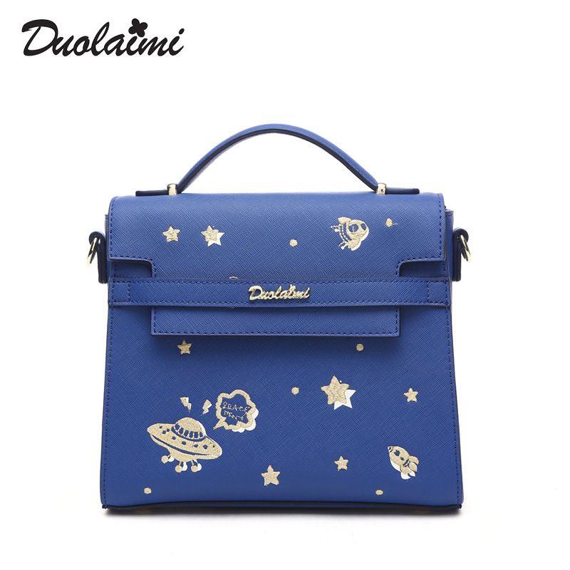 fff0276cf4 Duolaimi New Star Women Leather Handbags Vintage Woman Bags Bag Handbag  Fashion Handbags Women Shoulder Bags
