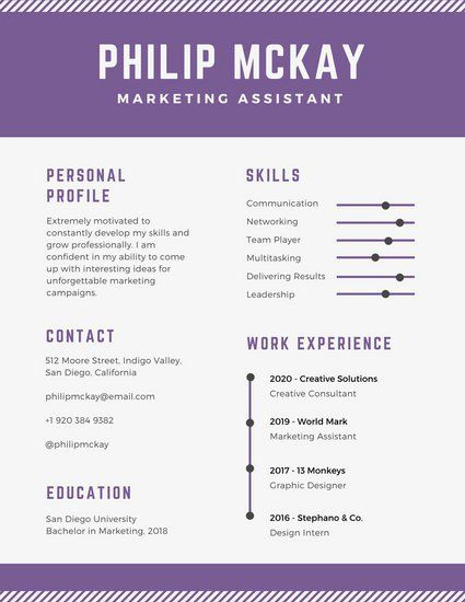 purple and light gray timeline infographic resume infographic resume template timeline infographic resume templates