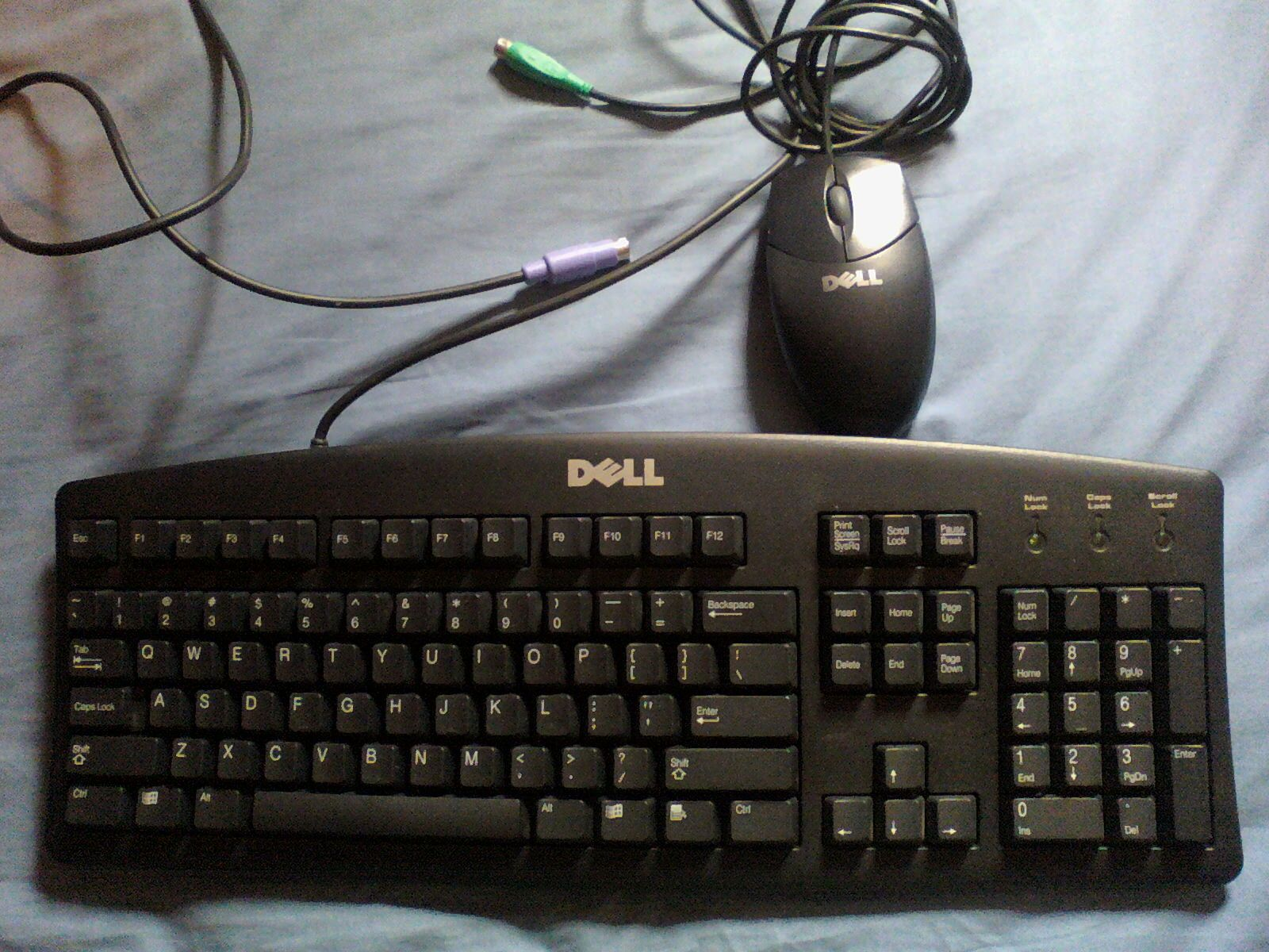 DELL keyboard and/or mouse (mechanical) PS/2