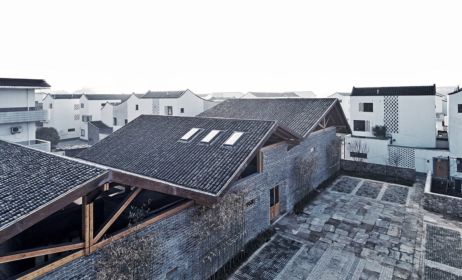 Gallery Of Dongziguan Villagers Activity Center Gad Line Studio 1 Architecture Village Studio