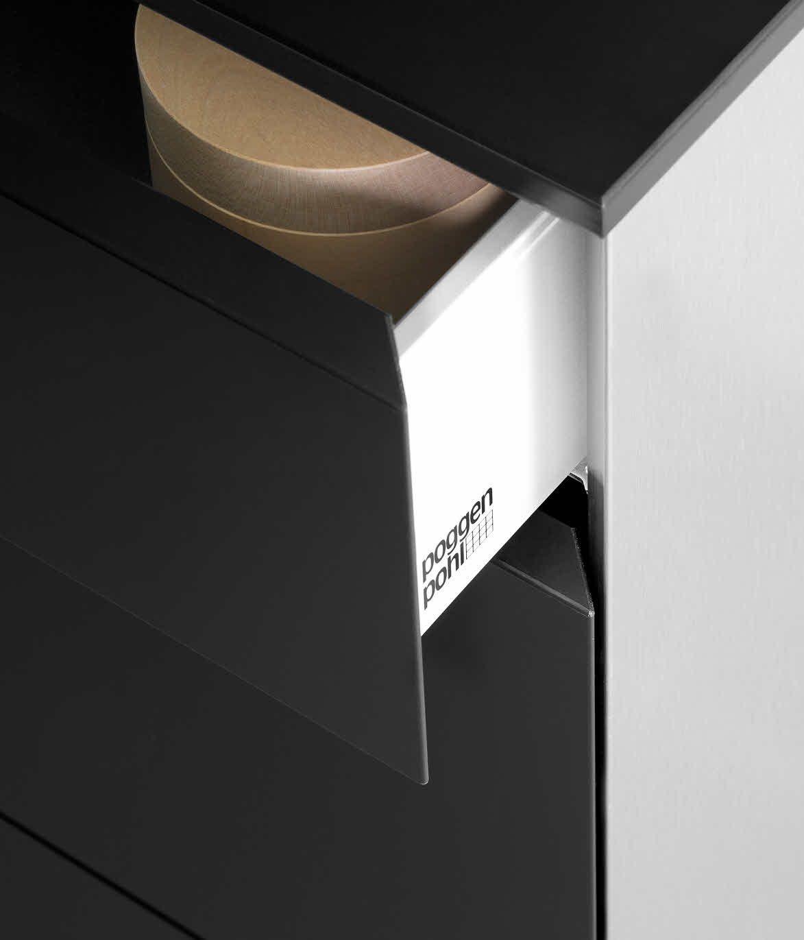 Poggenpohl P 7350 Design By Porsche Design Studio Detailansicht Auszug Gehrung Porsche Design Design Innovation Design
