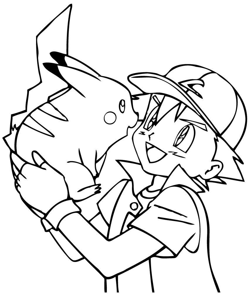 Coloriage De Pokemon Dessin De Pages à Colorier Coloriage