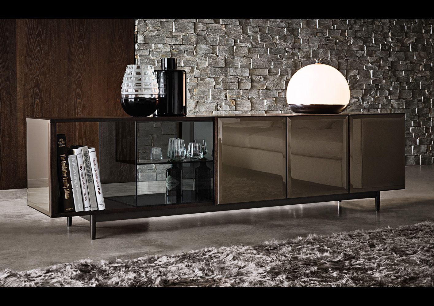 minotti ipad bookcases sideboards en morrison. Black Bedroom Furniture Sets. Home Design Ideas