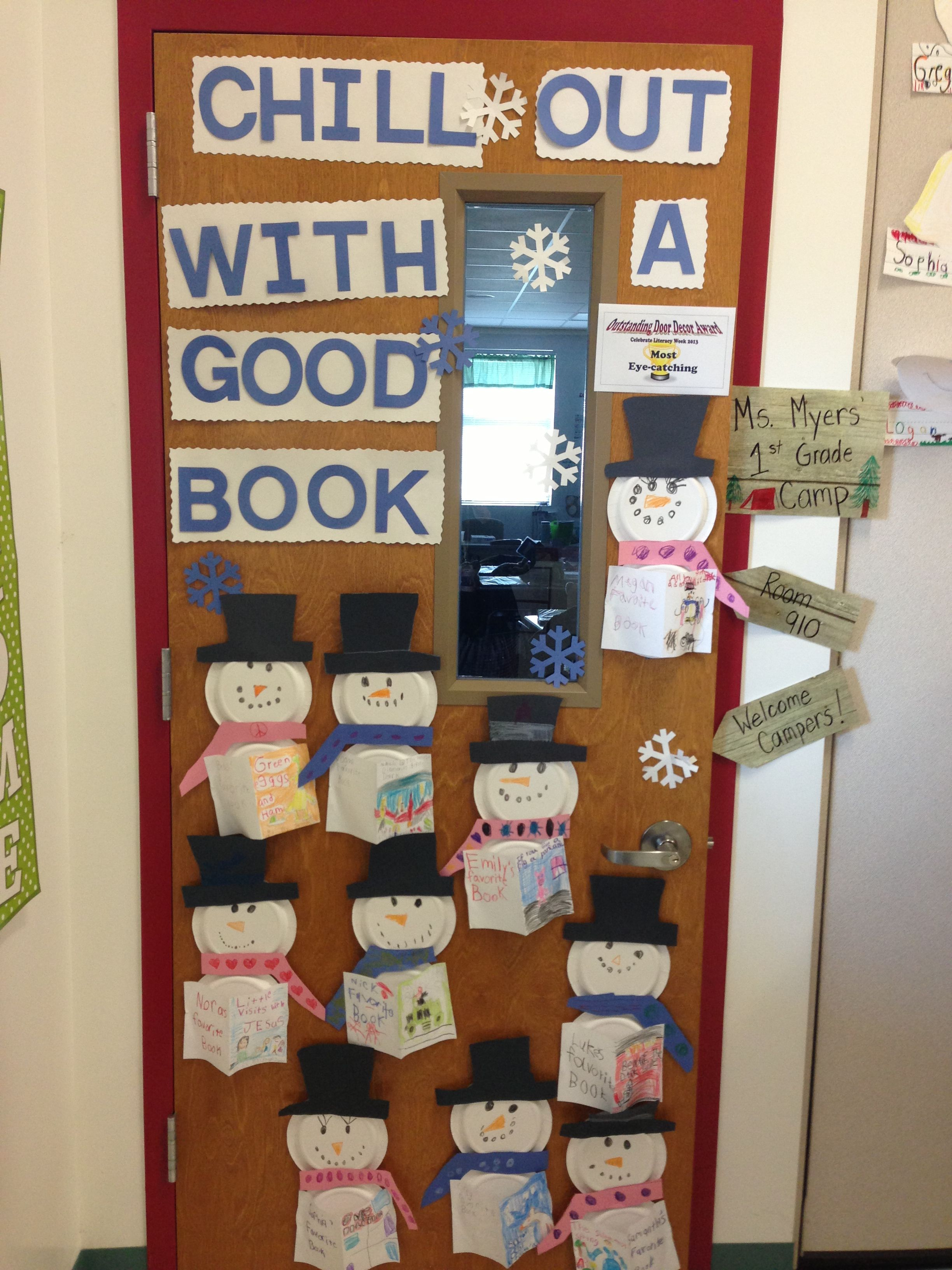 celebrate literacy week 2013classroom door decoration | i made