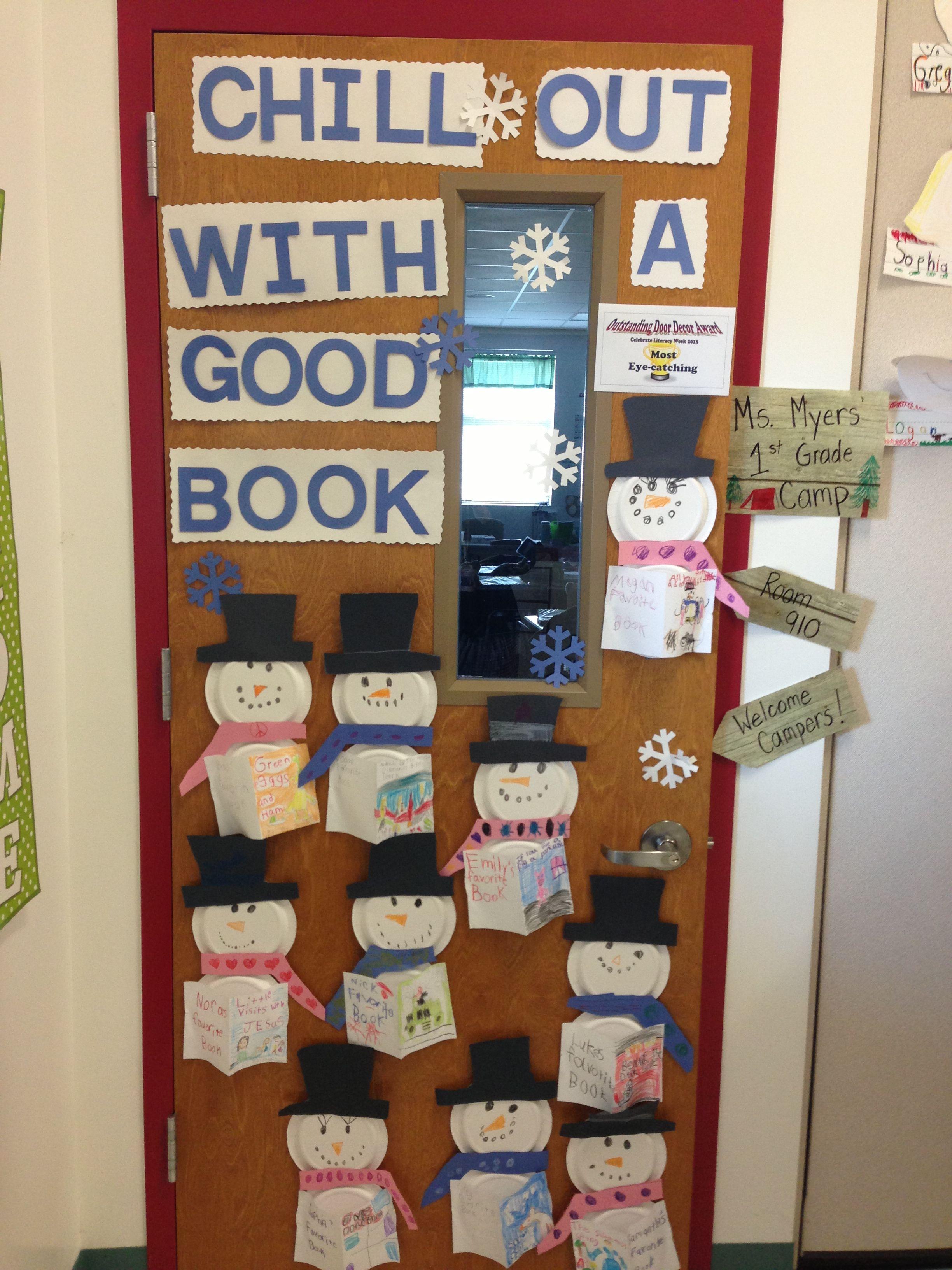 celebrate literacy week 2013classroom door decoration | i made