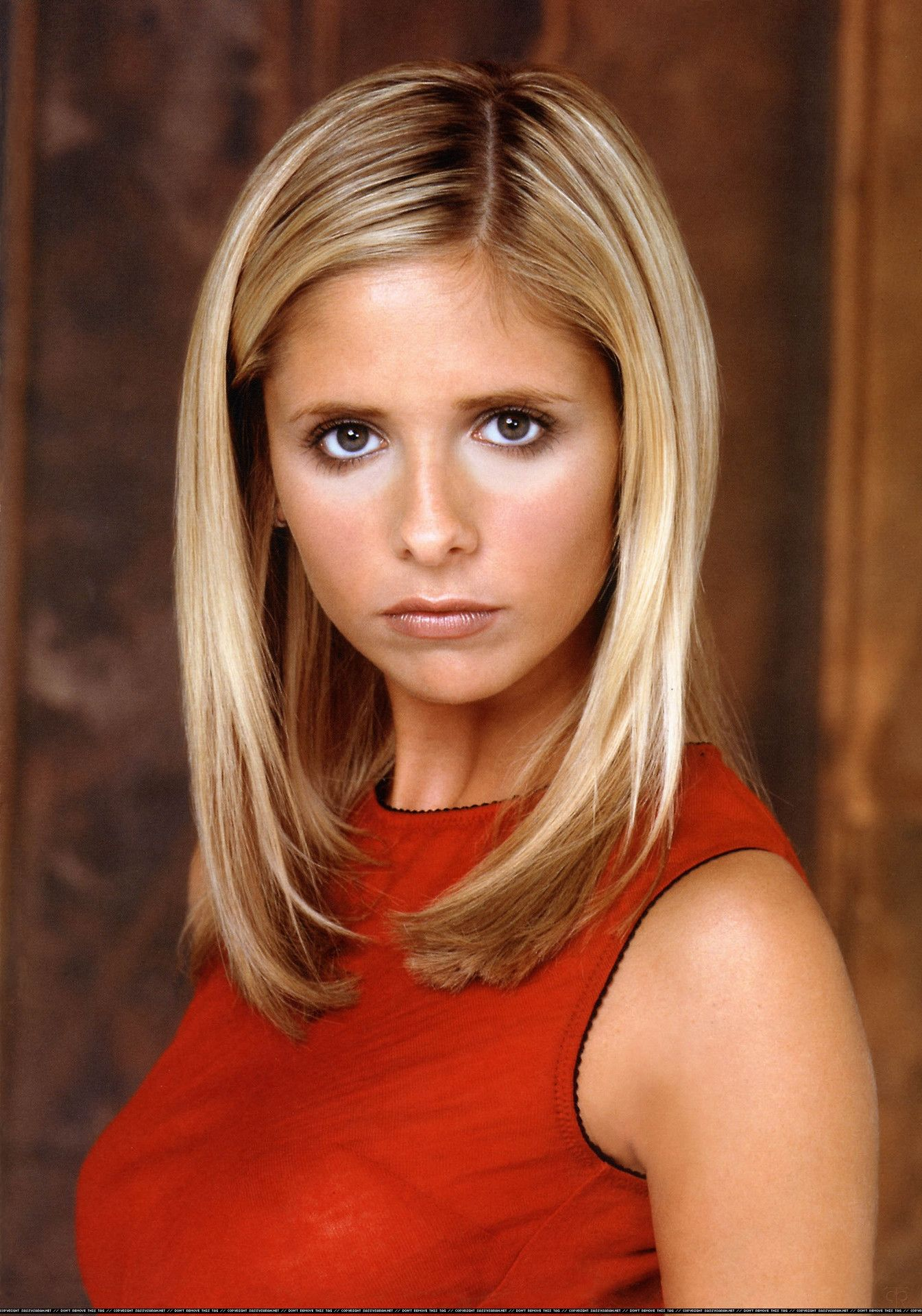 Buffy Summers (played by Sarah Michelle Geller on Buffy the Vampire Slayer)