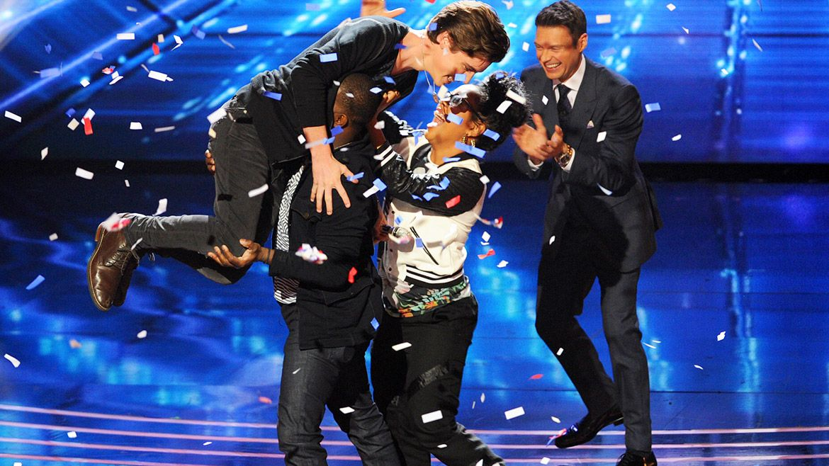 The judges decided to use their save on Sam Woolf, he too is SAFE! See more pics: http://idol.ly/1fS6xlN