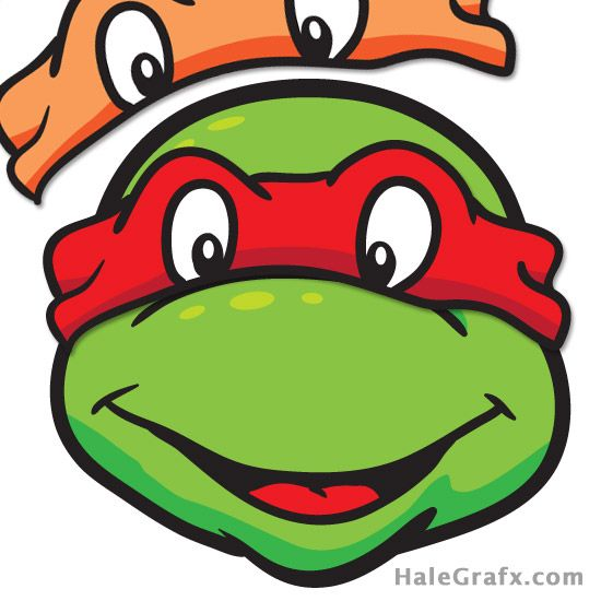 graphic regarding Ninja Turtle Printable called Absolutely free TMNT Pin the Mask upon the Ninja Turtle Printable Ninja