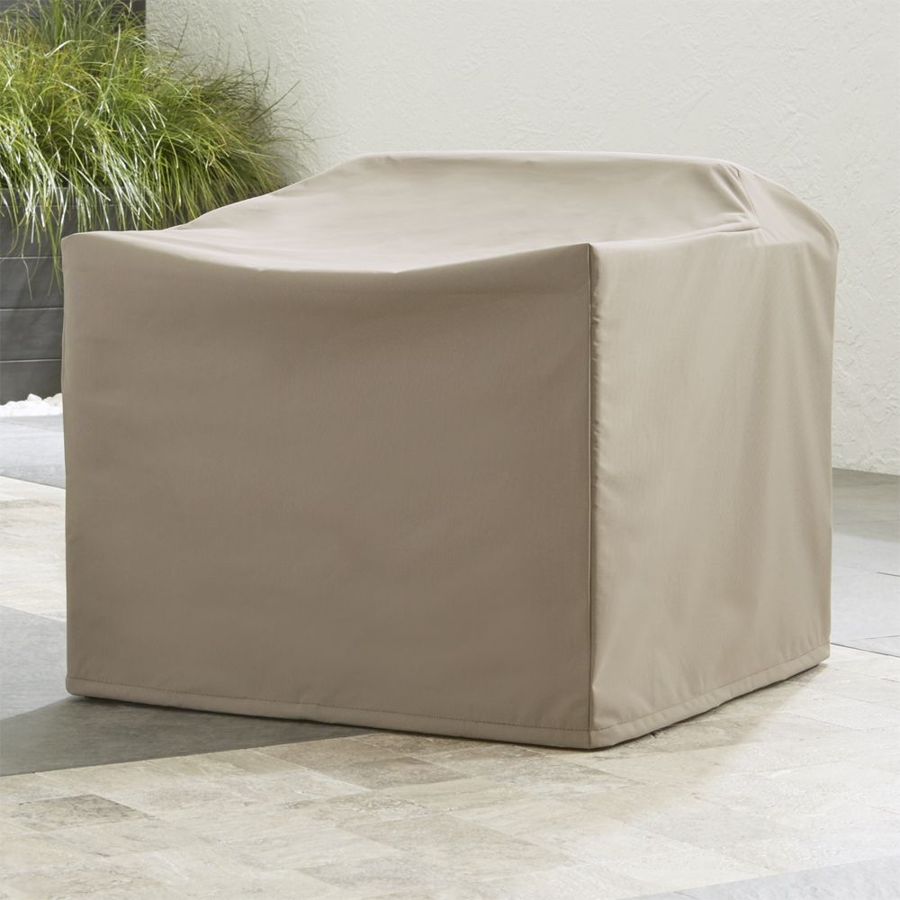 Dune outdoor lounge chair cover crate and barrel