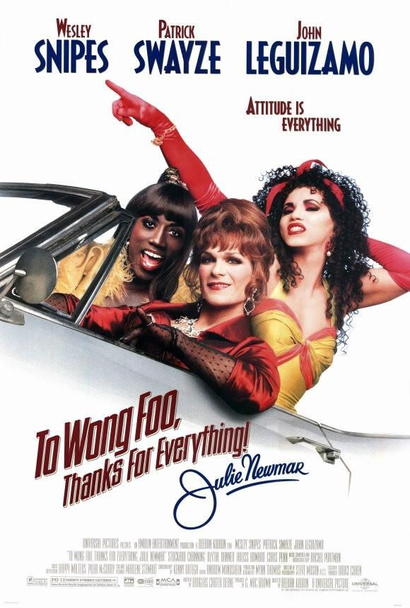 To Wong Foo Thanks For Everything Julie Newmar 27x40 Movie Poster 1995 Julie Newmar Cartazes De Cinema Os Incriveis Filme