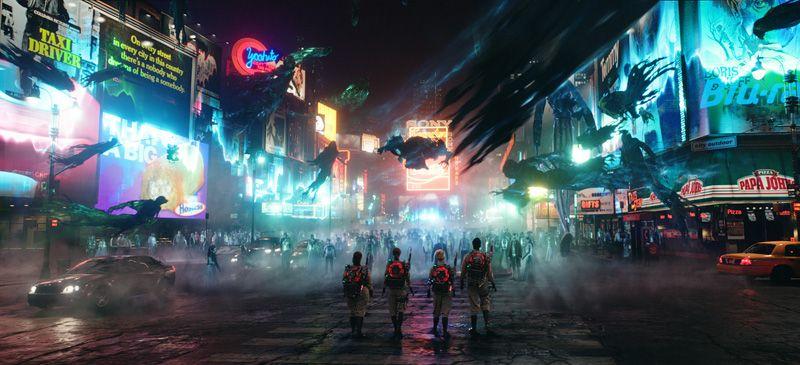 "Szenenbild aus ""Ghostbusters"" (Foto: Sony)"