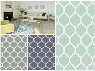 Dywan Home Art 120x170 Canvas Marokańska Koniczyna Dywany