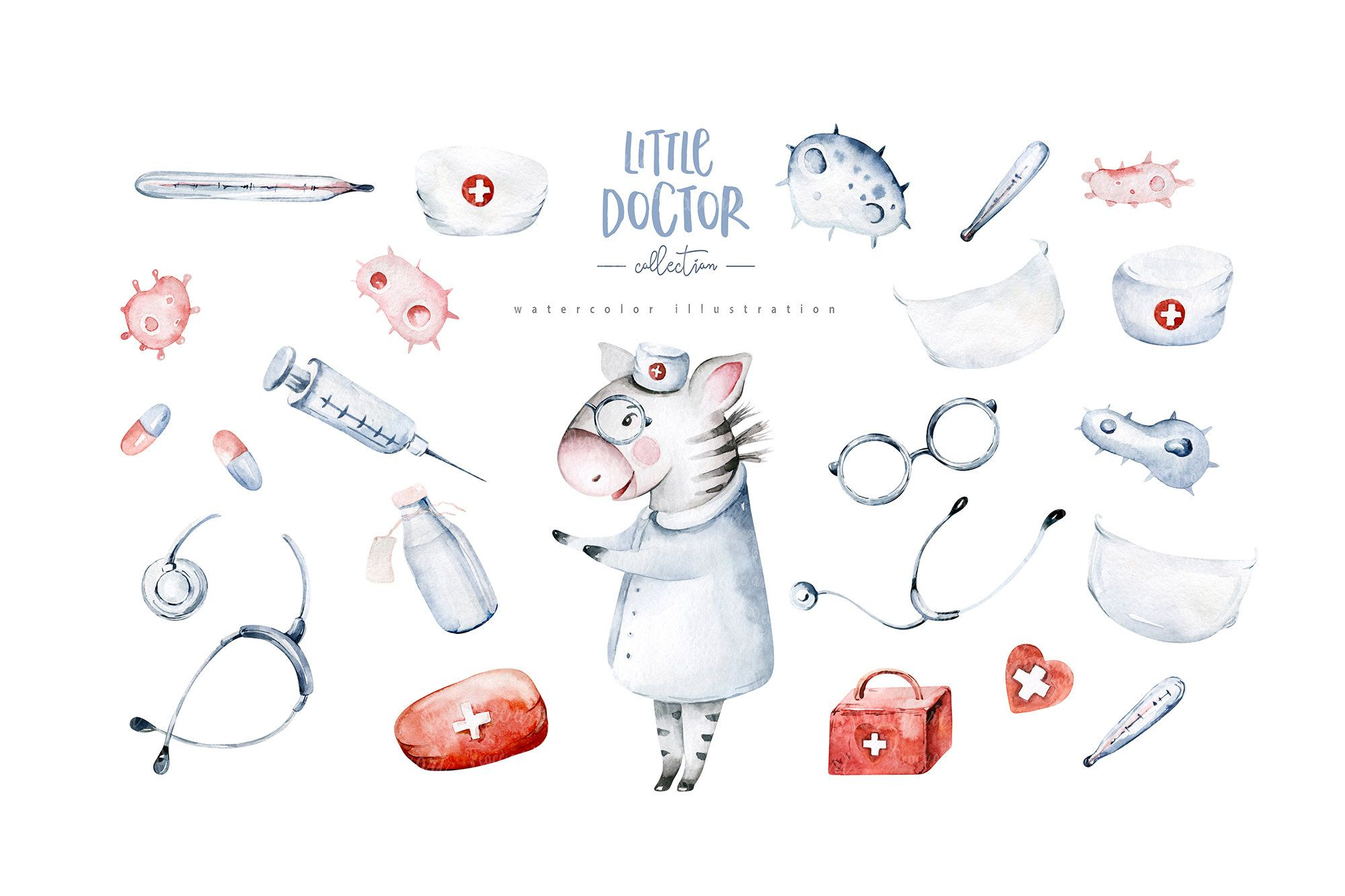 Clip Art Doctor Clipart Male Nurse Png Doctor Clip Art Etsy In 2021 Watercolor Animals Animal Clipart Clip Art