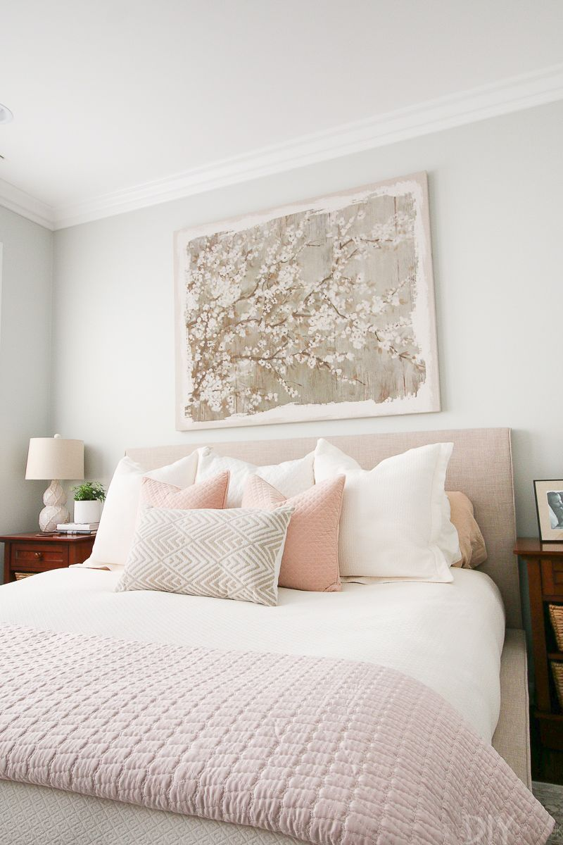 Best Styling A Blush Bedroom With Feminine Touches Serene 400 x 300