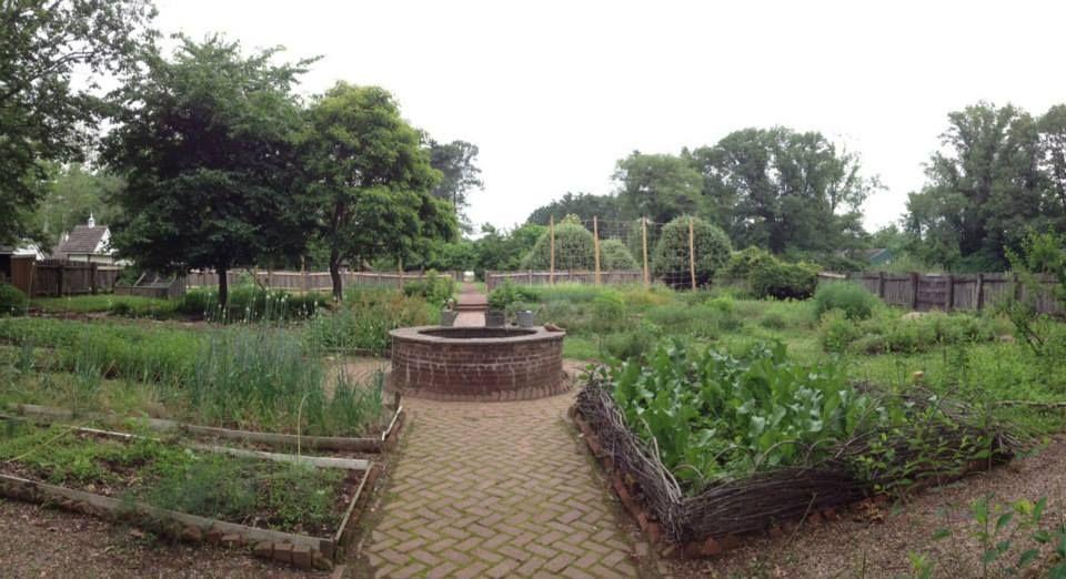 the kitchen garden at pennsbury manor my ideal home kitchen garden breakfast house on kitchen garden id=86754