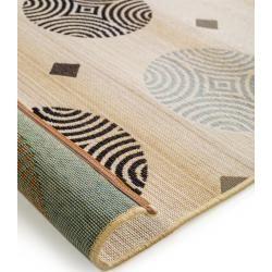 Photo of benuta In- & Outdoor-Teppich Artis Grau/Weiß 200×285 cm – für Balkon, Terrasse & Garten benuta