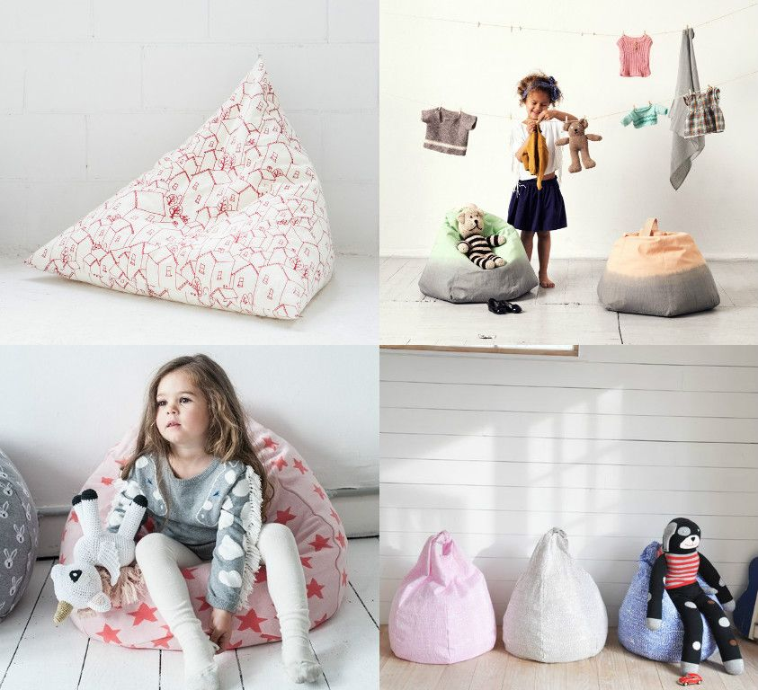 the best bean bags & floor cushions for kids | bean bags and