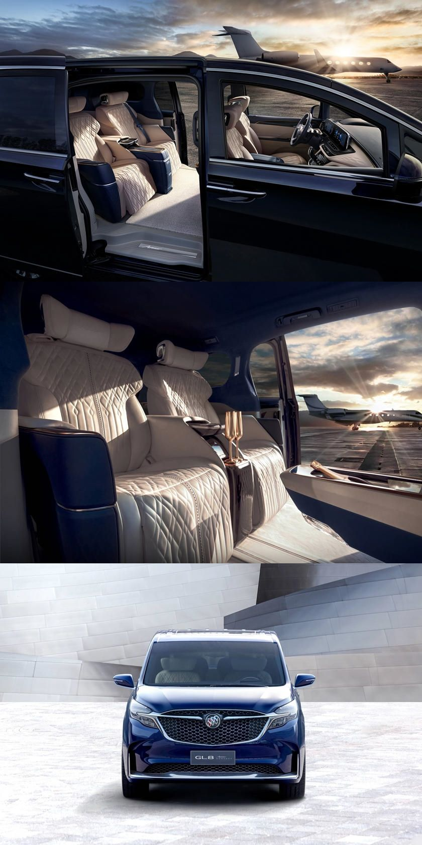 Buick Reveals The Maybach Of Minivans The Luxurious Buick Gl8 Avenir Concept Is Entering Production In 2020 Maybach Buick Mini Van