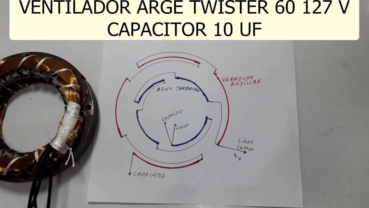 Como Fazer Ligação Das Bobinas Motor Compressor Tufão 2 Capacitores |  Axtudo - vozeli.com