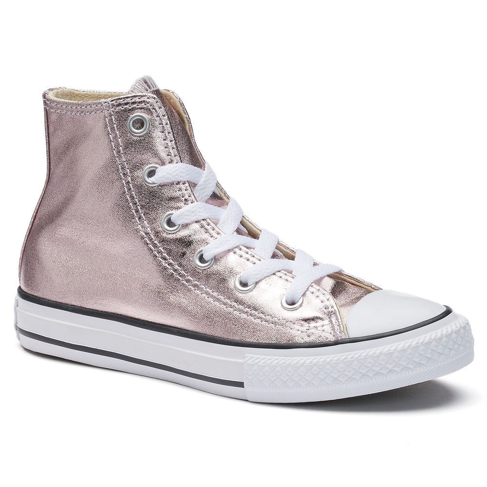 Girls' Converse Chuck Taylor All Star Metallic High Top
