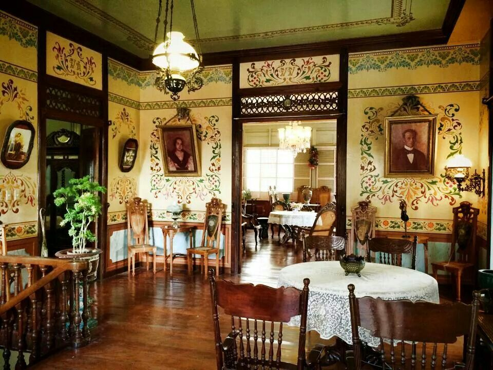 Taal Ancestral House Filipino Interior Design Heritage House