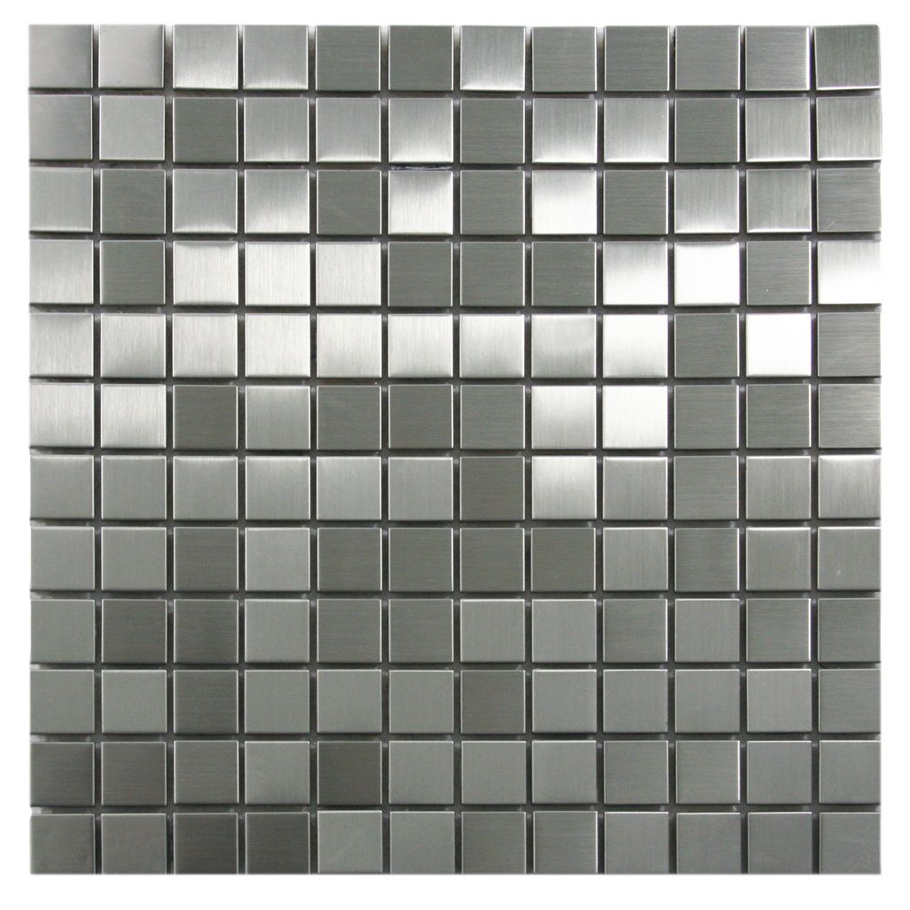 Stainless Steel Mosaic Tile 1x1 Stone Mosaic Tile Stainless Steel Fireplace Mosaic Tiles