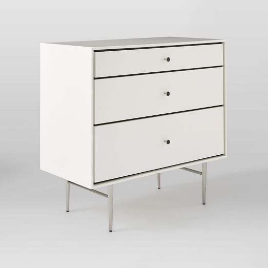 Heston Mid-Century 3-Drawer Dresser | West Elm