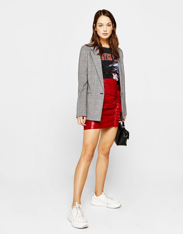 1ec4c960ecc Masculine blazer   Fashion   Dress up jeans, Fashion, Bershka outfit