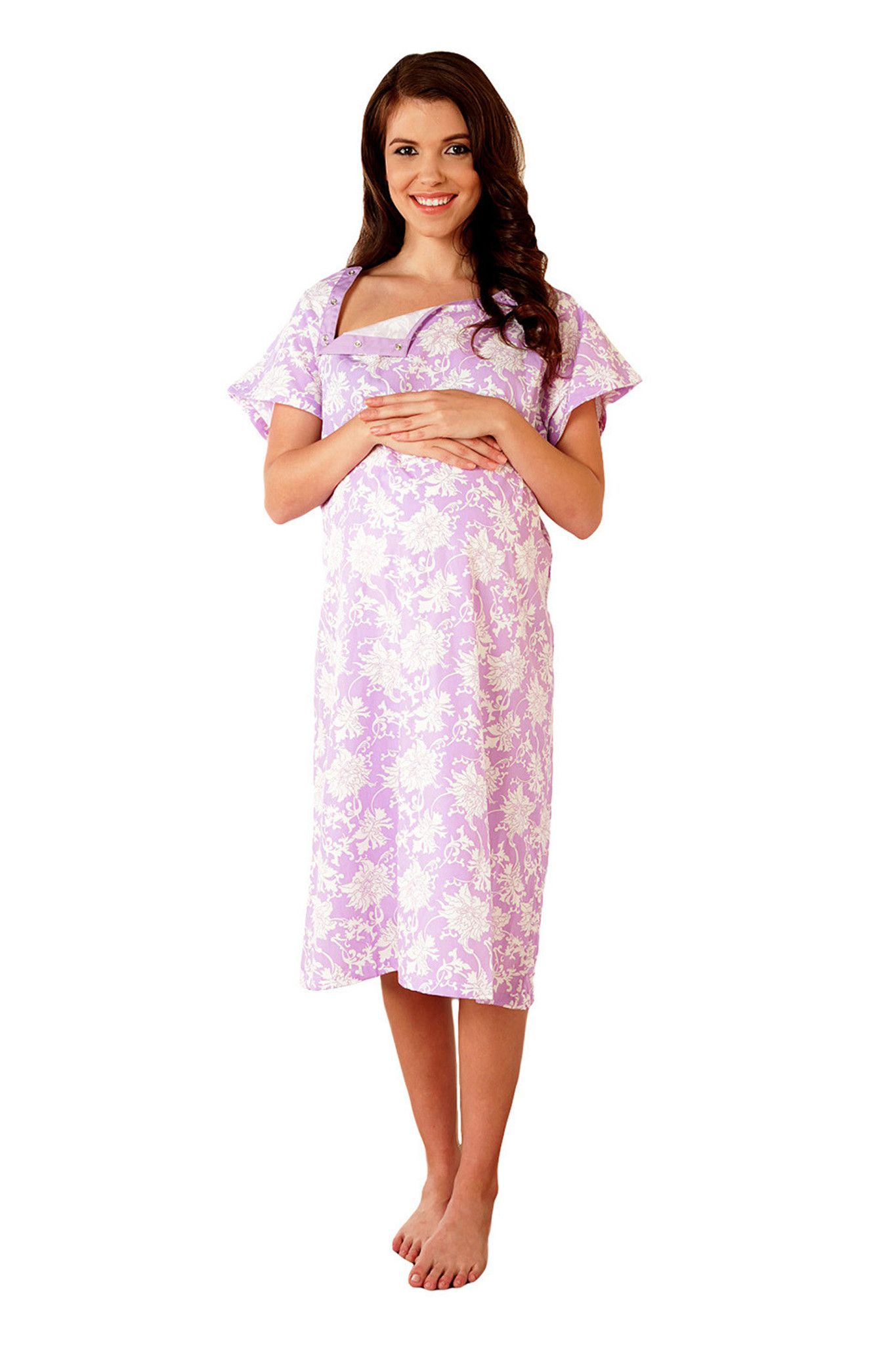 9cd22c353fd1d Helen Labor & Delivery Gown | Future Baby | Delivery gown, Birthing ...