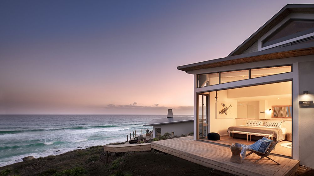 At This Secluded Beachside Retreat in Cape Town, Dolphins