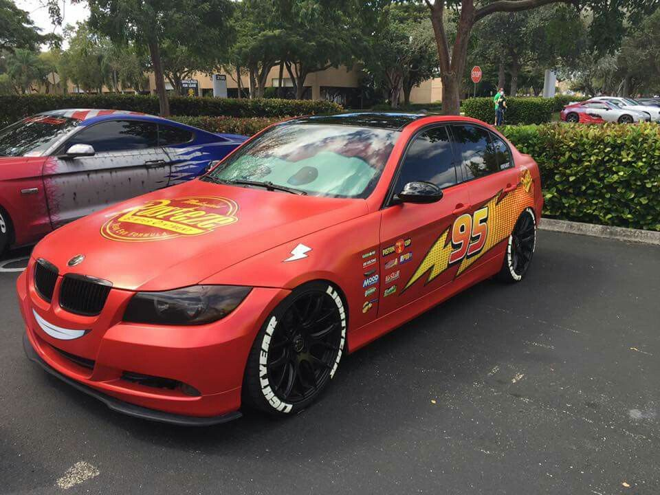 Bmw In Pixar S Cars Lightning Mcqueen Livery Bmw