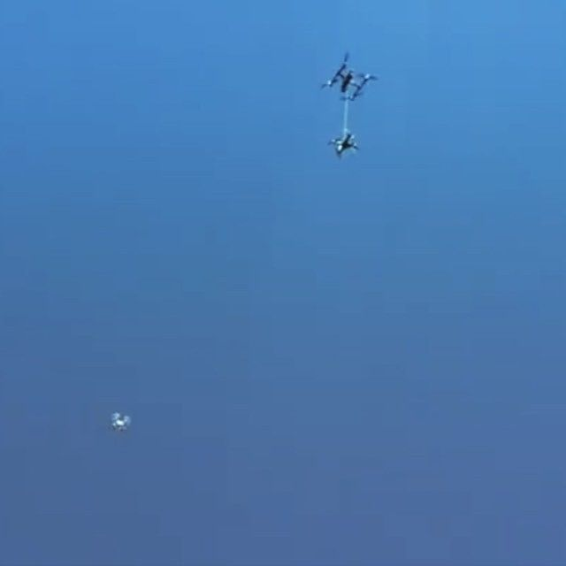 DJIinspire1 drops an imposter #drone to its death RIP Full Video