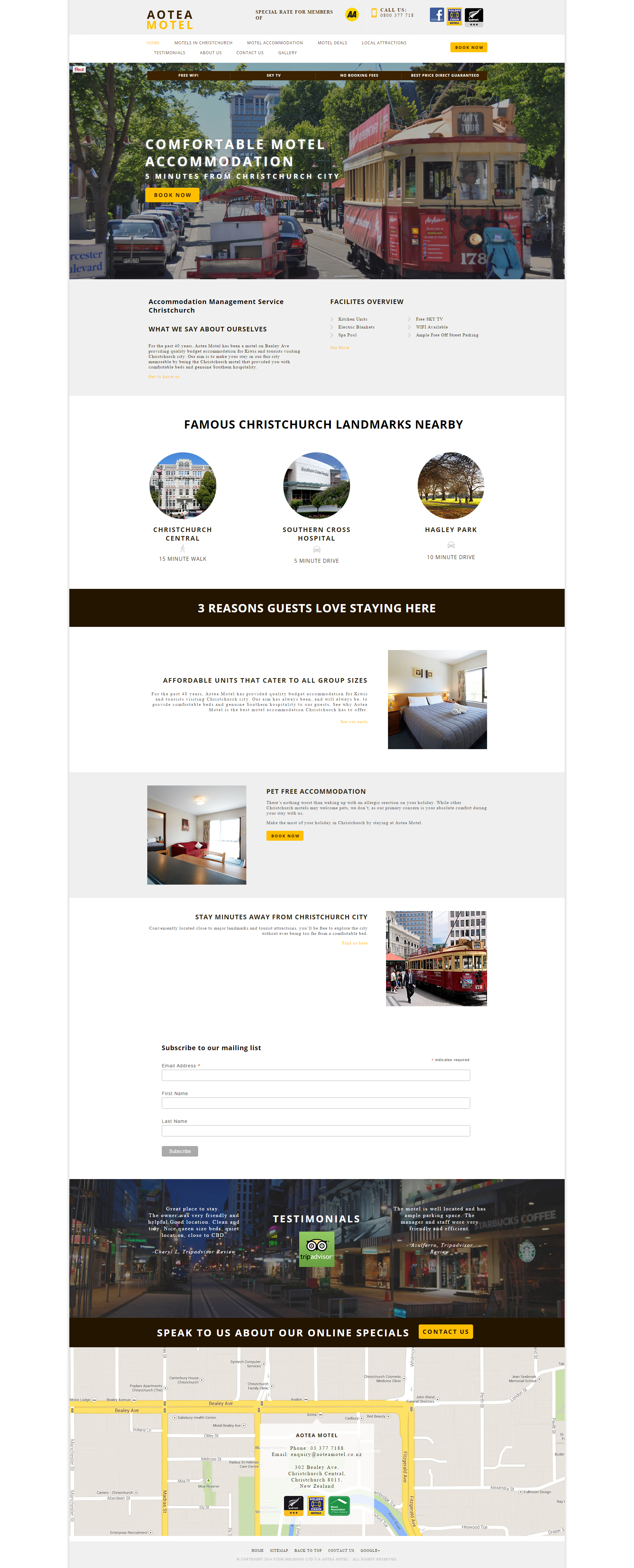 A Zeald Website Has Helped Aotea Motel Hhttp Www Aoteamotel Co Nz To Achieve Their Business Dream Vi Website Redesign Website Design Website Optimization