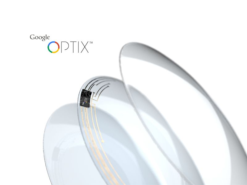 Google Optix™ - Smart Contacts by Ty
