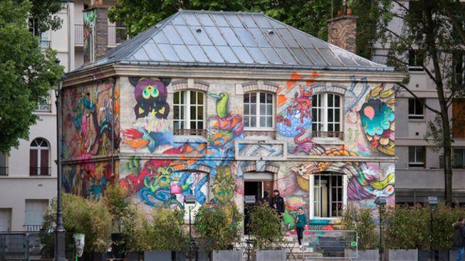 Le Pavillon des Canaux  pour aller boire un verre et je crois qu'on peut manger à côté de chez toi :)  39 quai de Loire - 75019 Paris