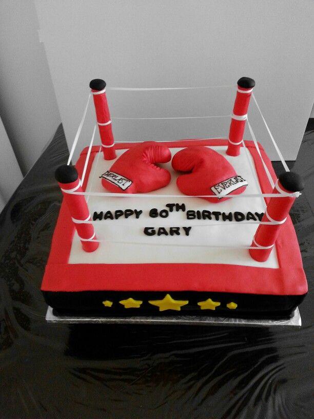 Boxing Ring Cake Ring Cake Themed Cakes Sport Cakes