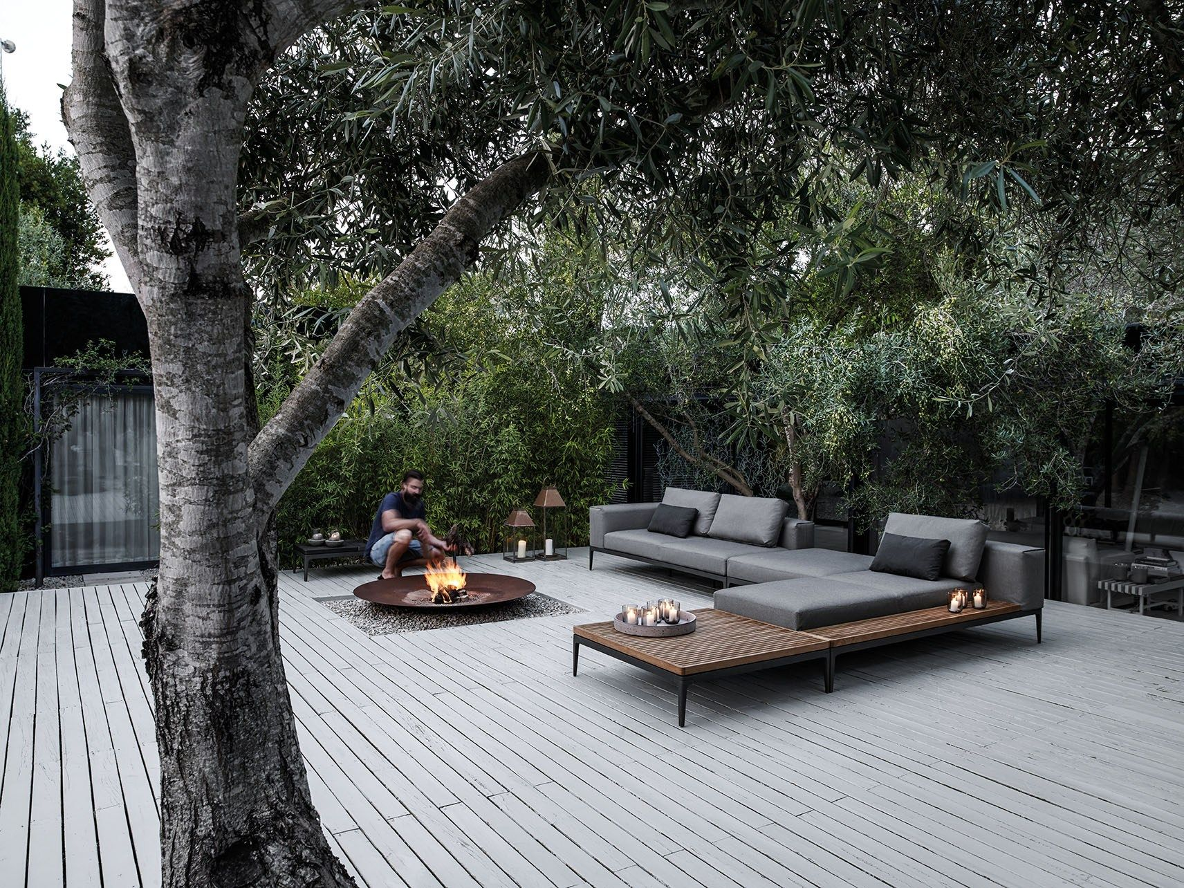 Mobilier Exterieur Gloster Grid Divano Collezione Grid Outdoor Lounge By Gloster Design