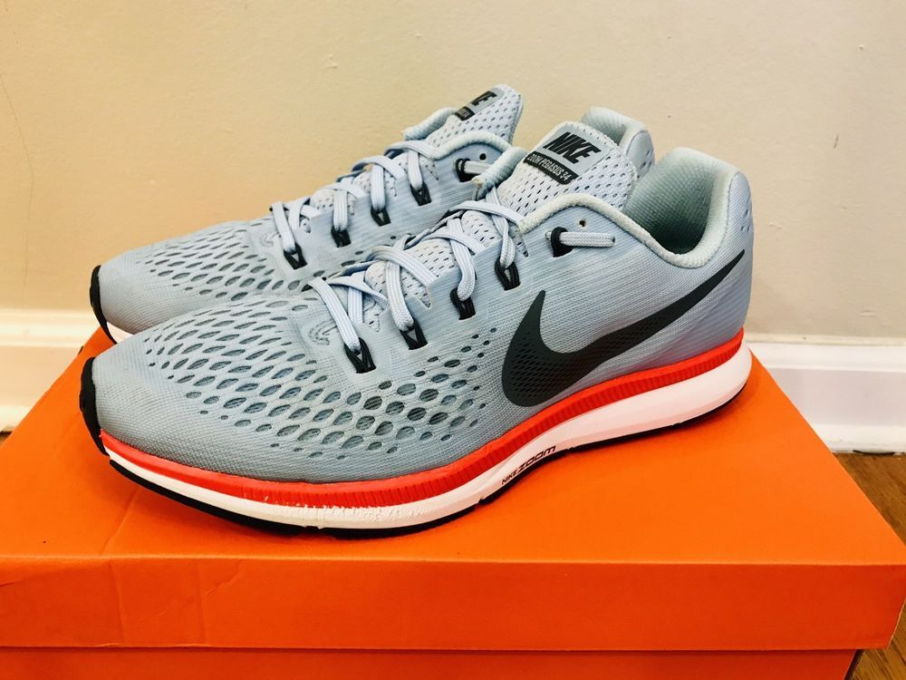 96482a812d76c Nike Zoom Pegasus 34 Running Shoes Sneakers Mens Mens 9.5 Turbo Air 9 1 2