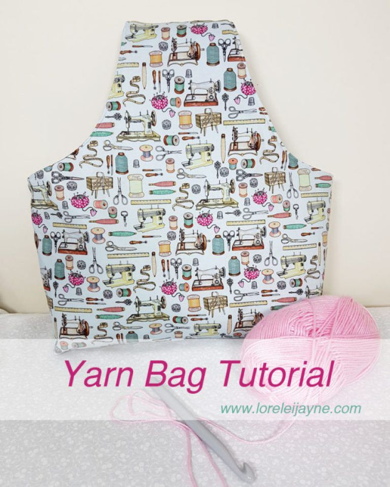 Yarn Bag Tutorial | Tutoriales y patrones | Costura, Ganchillo y Hilo