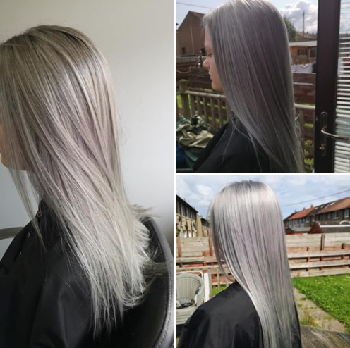 12+ Going grey at the hairdressers trends