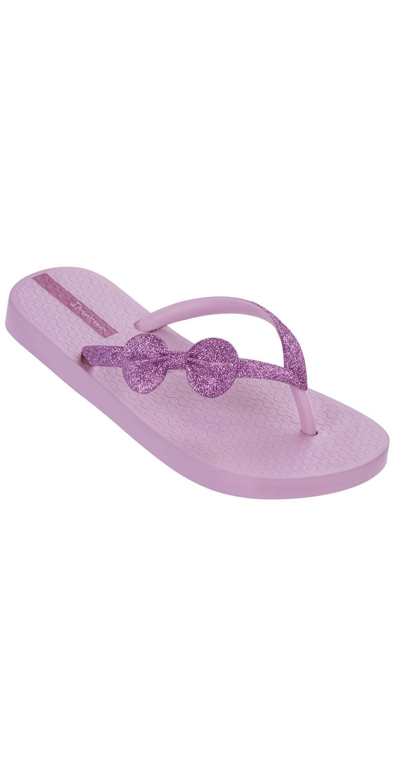 4d4e100ec iPanema 2014 Glitter Kid Pink Bow  FlipFlops 21556