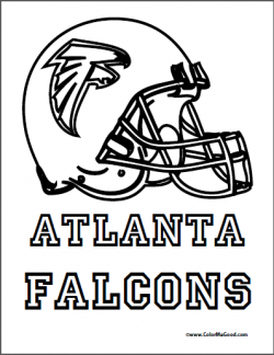 Atlanta Falcons Coloring Pages Crafts And Activities Football