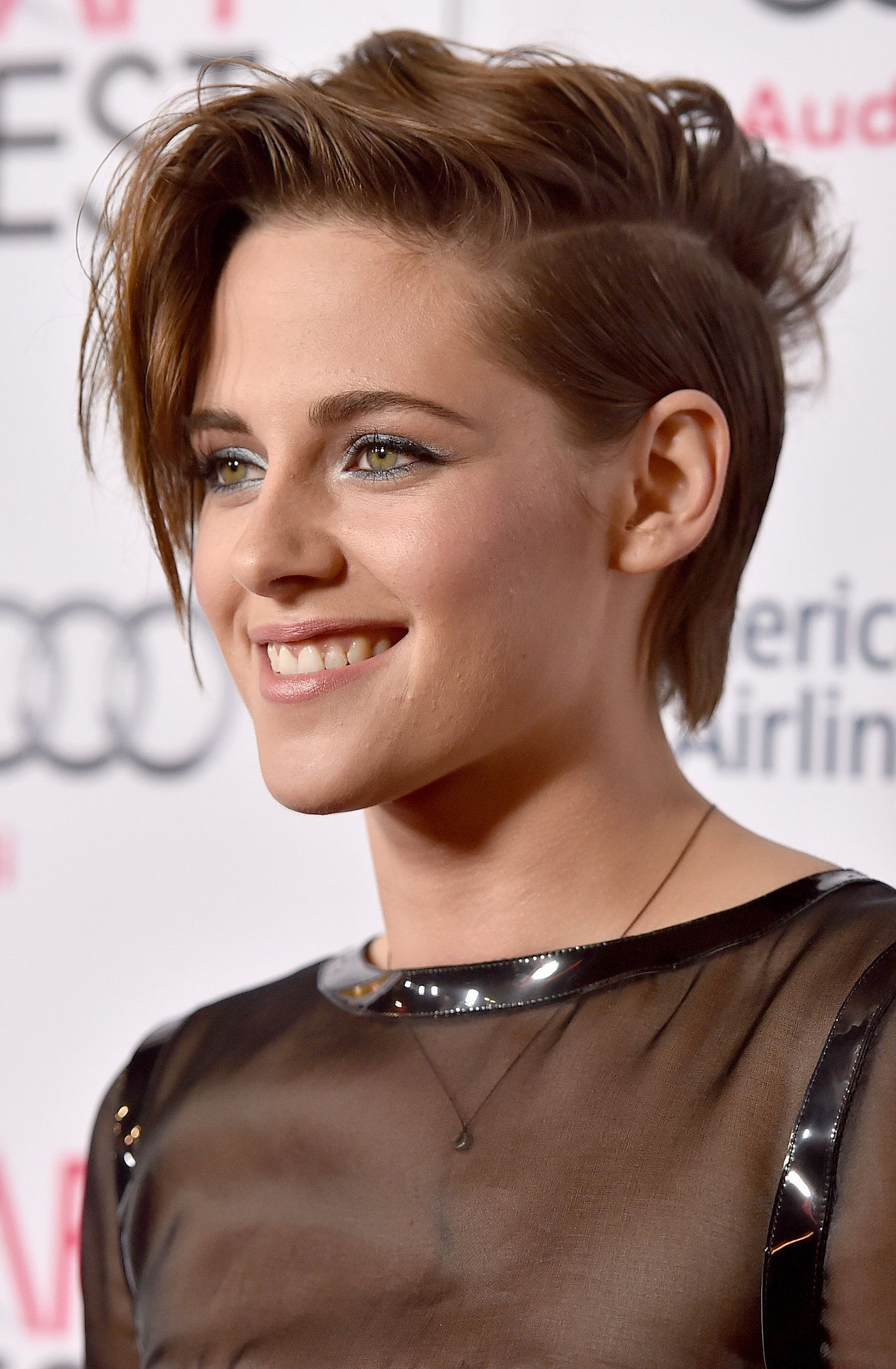 photo Kristen Stewart Tousled Curly Hairstyle