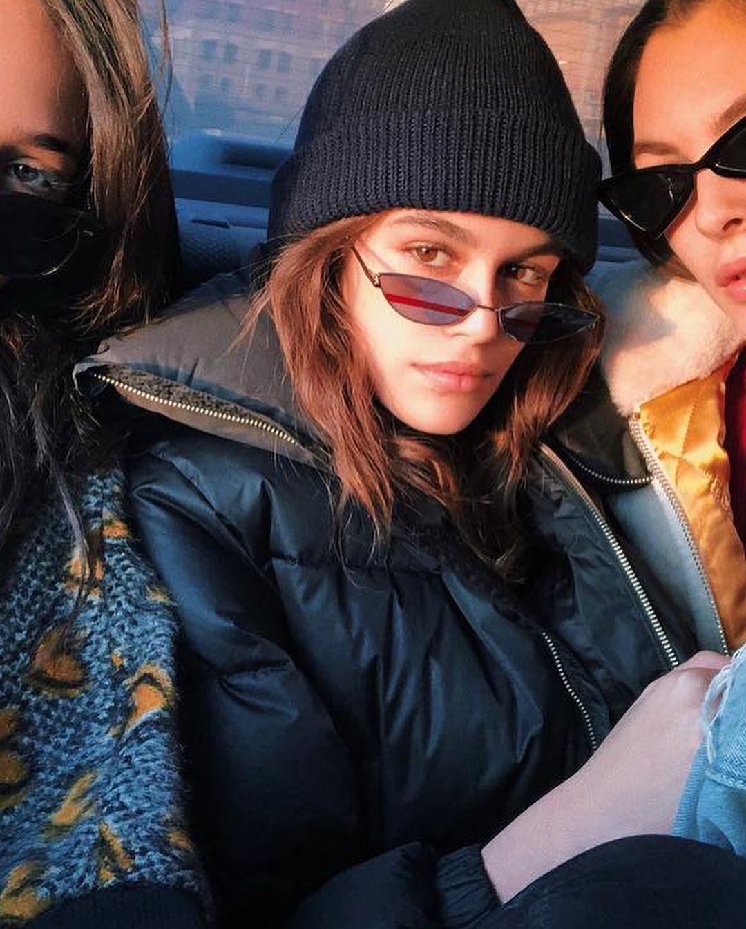 0f6dc8d977ecb Kaia Gerber  kaiagerber in POXI 02(1M)  gentlemonster  sunglasses  poxi   kaiagerber