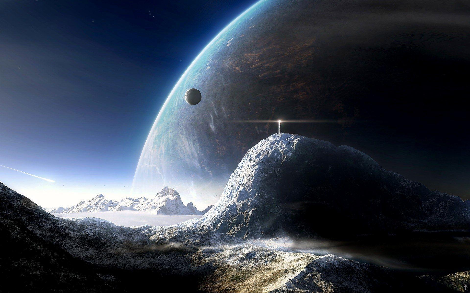 10 Top Sci Fi Space Wallpaper Full Hd 1080p For Pc Background Planets Wallpaper Sci Fi Wallpaper Space Art