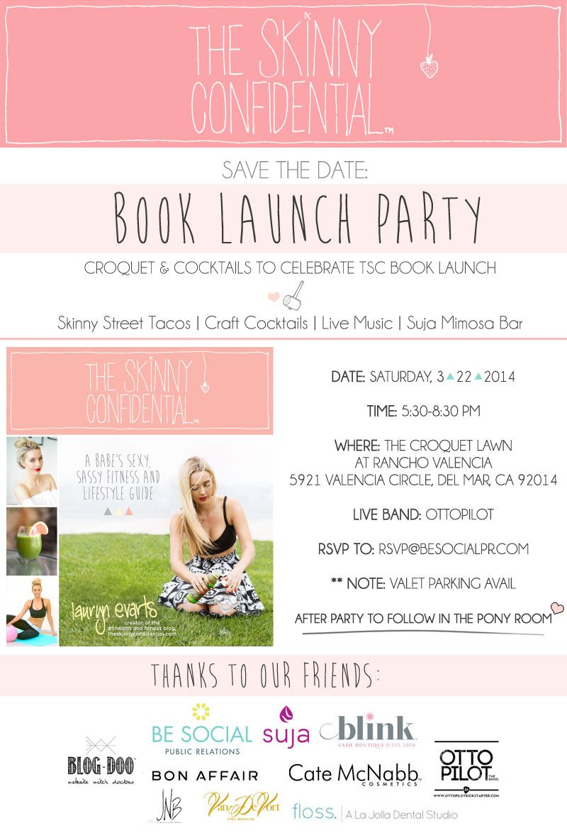 Croquet & Cocktails: The Skinny Confidential Book Launch