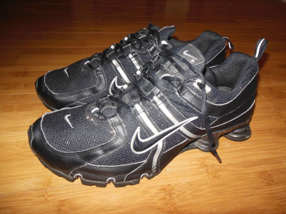 info for 332cc 601c9 Men s Nike Shox BRS 1000 Athletic Running Shoes Size 11.5 Black Grey - Very  Nice