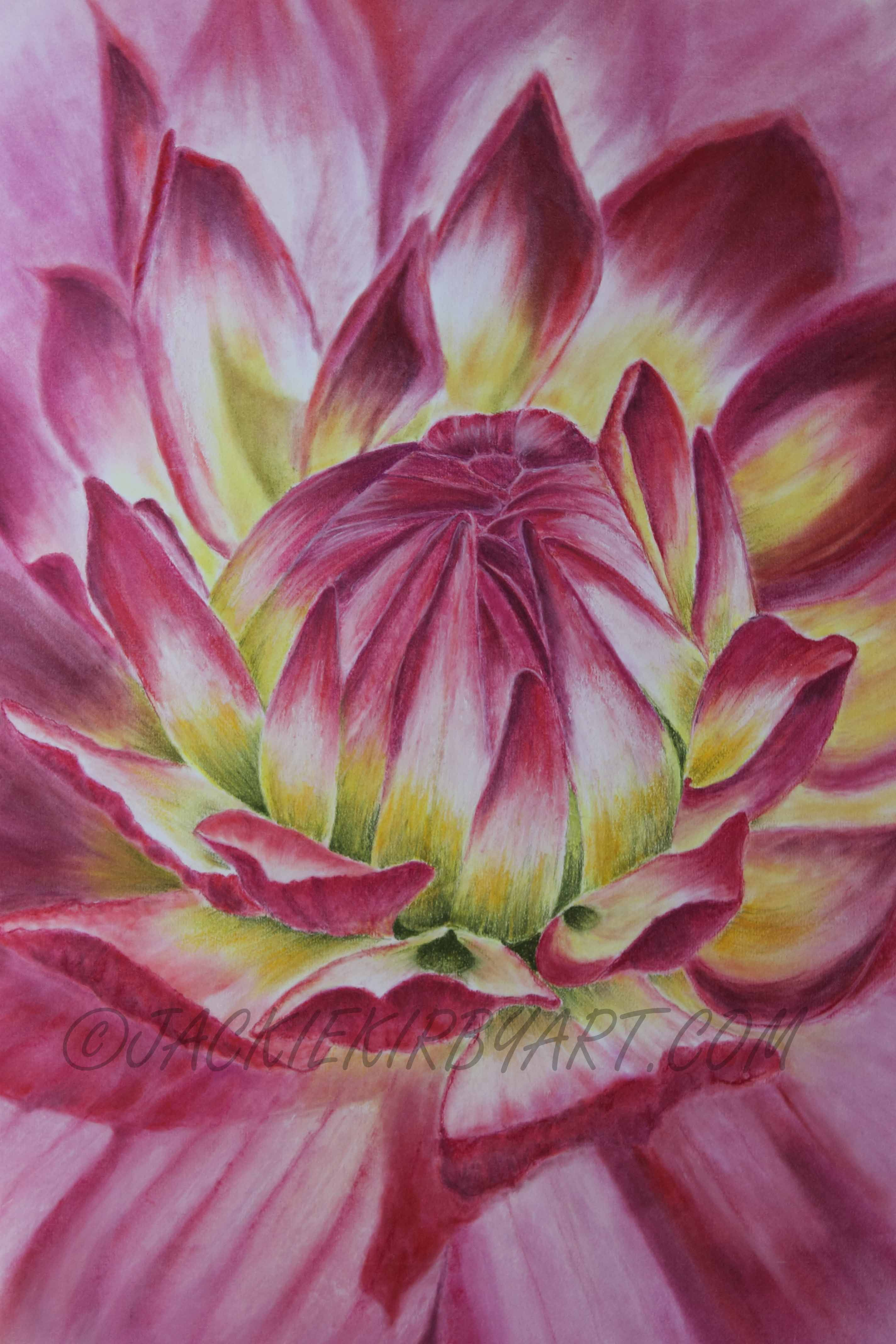 Pastel Painting Flower