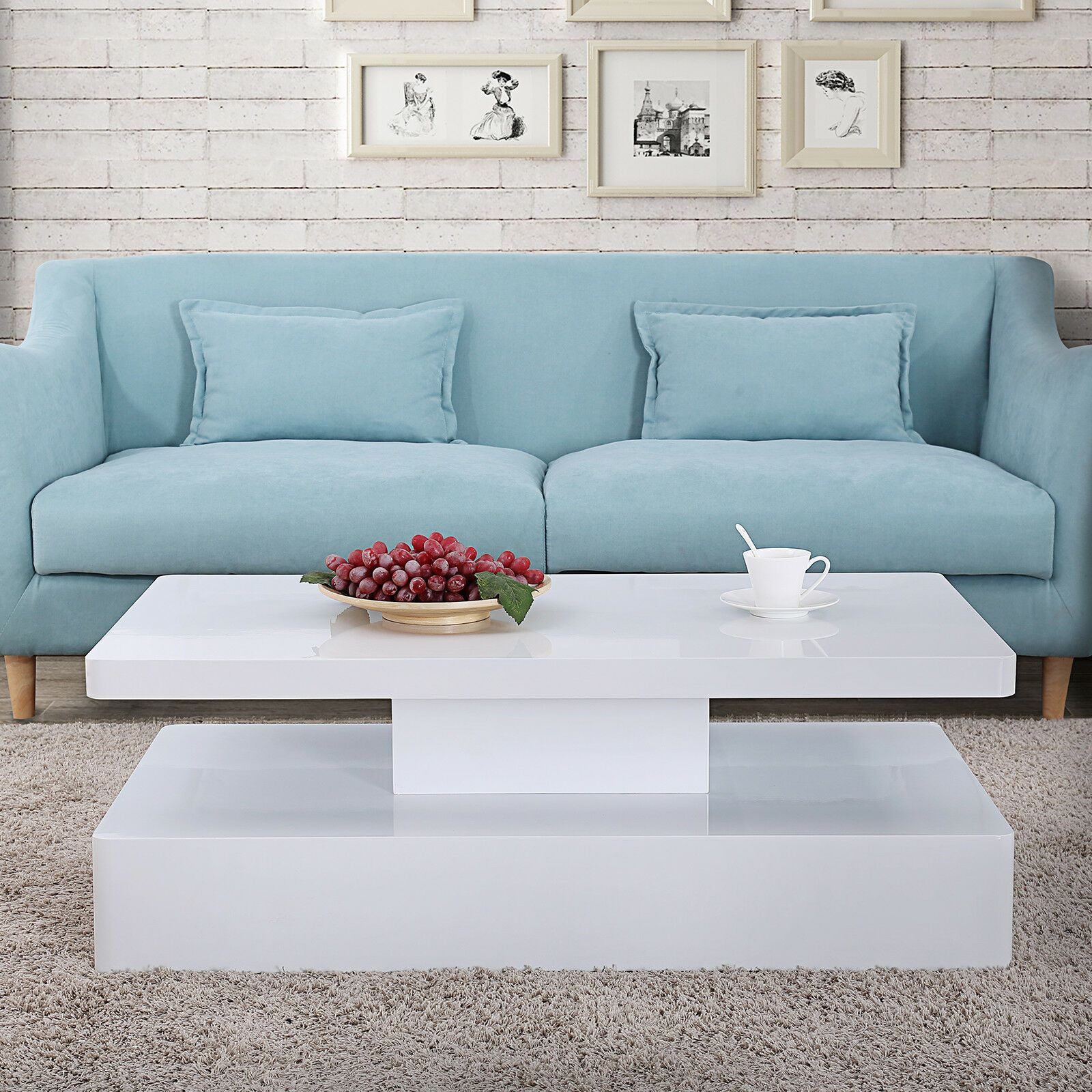 Kenwell High Gloss Led Lighting Coffee Table Living Room Furniture White 1169 90 In 2020 Furniture Design Living Room White Living Room Tables Living Room Furniture [ 1600 x 1600 Pixel ]
