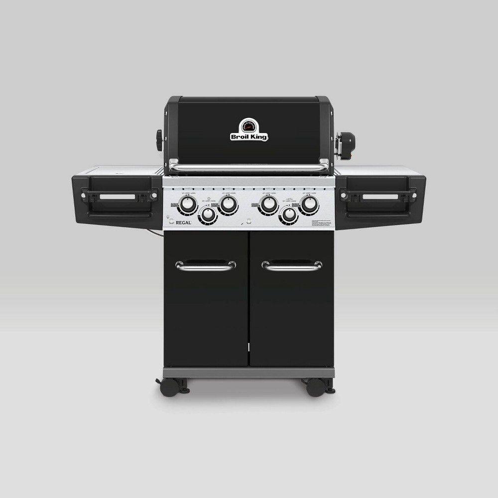 Broil King Regal 490 Pro 4 Burner Liquid Propane Gas Grill 956244 In 2020 Best Gas Grills Propane Gas Grill Grilling